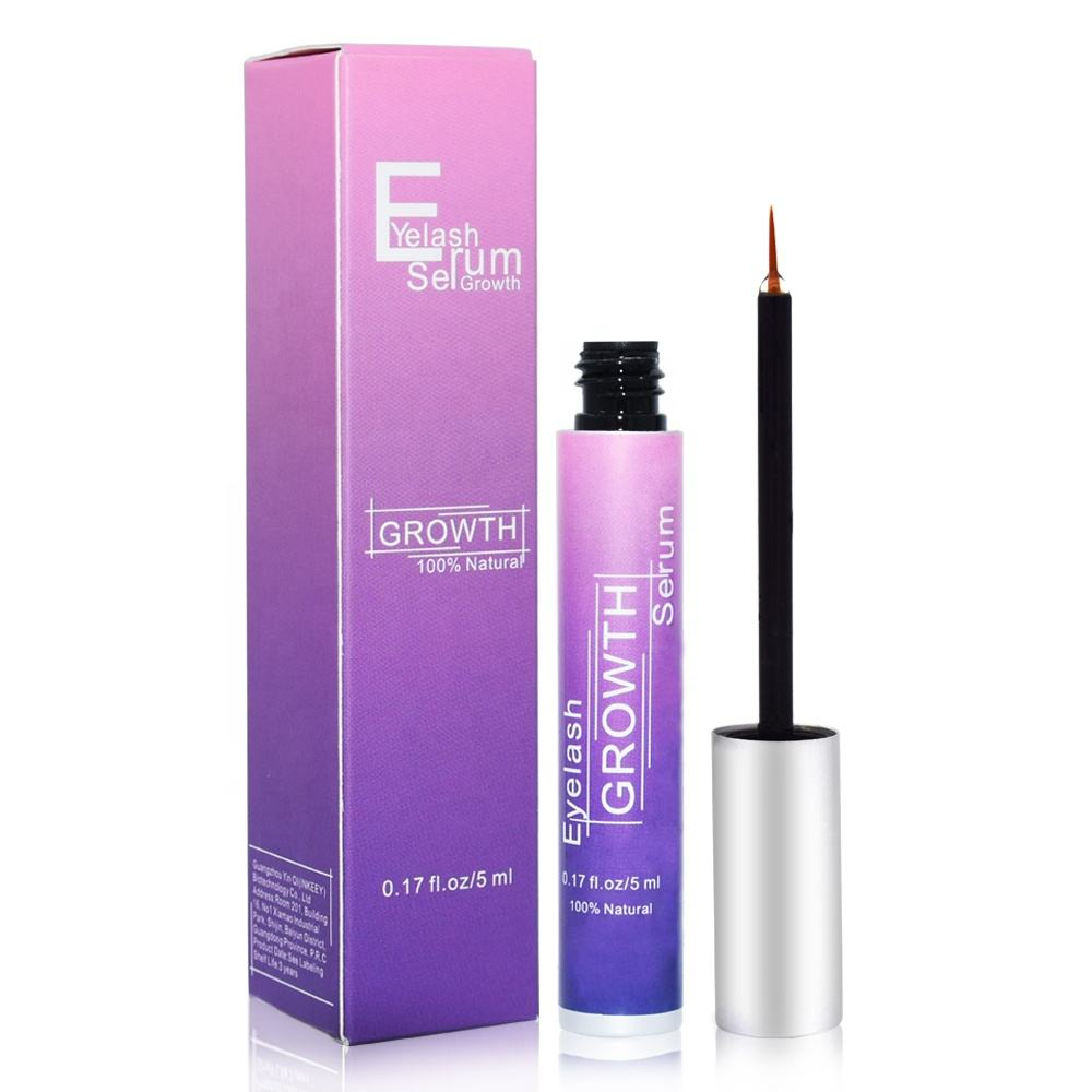 Factory Wholesale Private Label Curling up Effective Eyelash Growth Serum