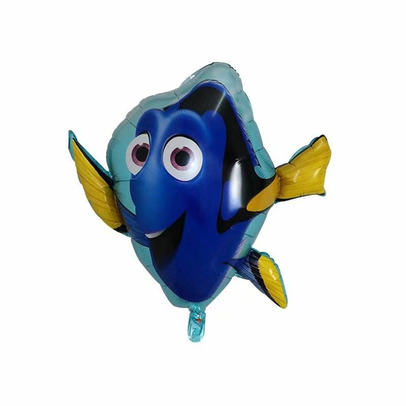 cartoon foil balloon Dolly fish helium balloon for kids toy or party decoration