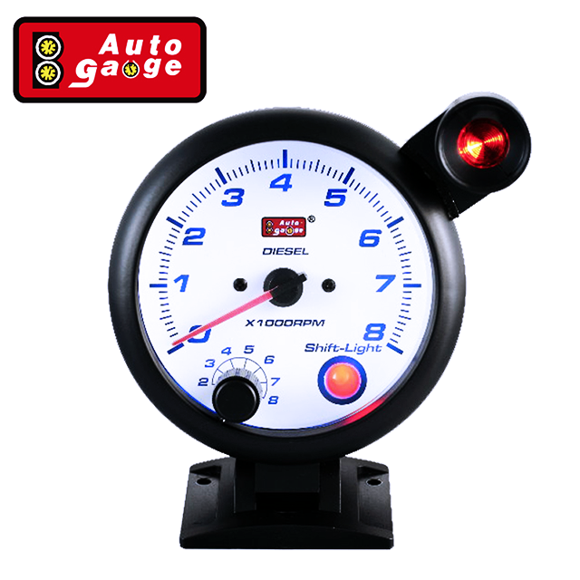 95 mm Universal car LED display RPM meter gauge