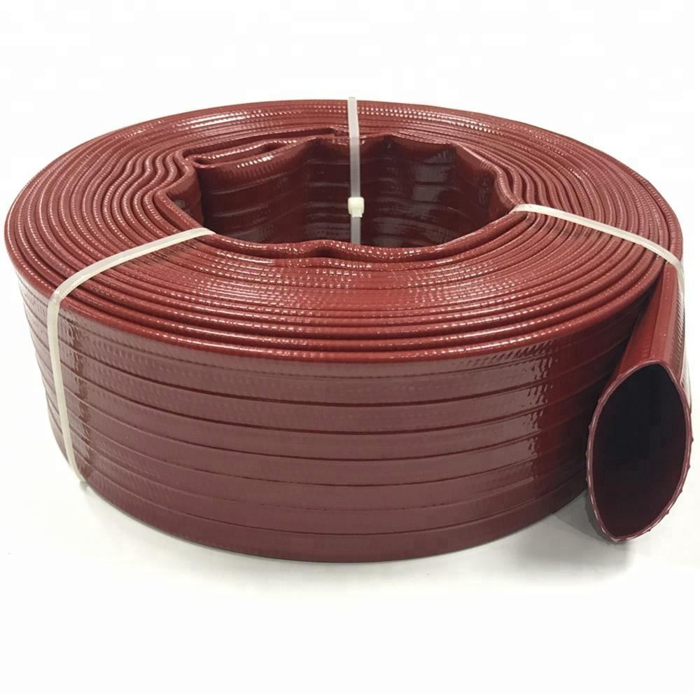 High Pressure Eastops Agricultural Irrigation Pipe OEM & ODM 1 1.5 2 3 4 Inch Flexible Water Hose Lay Flat Hose