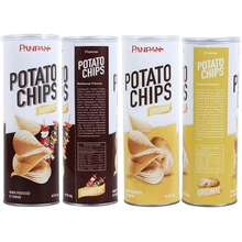 Panpan ready to eat foods halal canned pack potato chips
