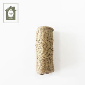 25M DIY Natural Hemp Rope Jute Twine Jute Rope For Hang tag