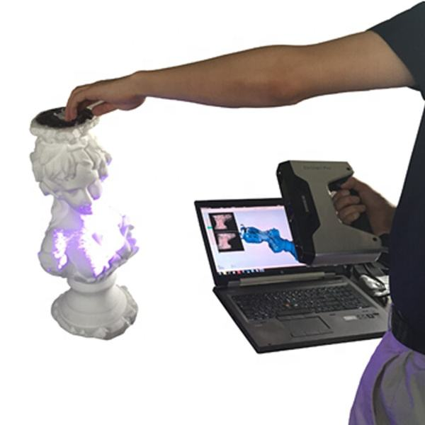 no scan limits automatic rapid HD turn-table, fixed and handheld 3d scanner