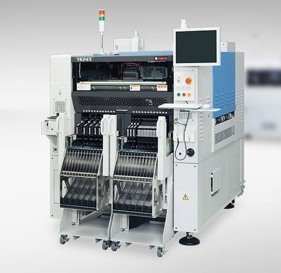 YAMAHA YS24 SMT Excellent mounting capability pcb making machine