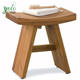 Bathroom bath stool 100% natural Wood bamboo Shower Bench
