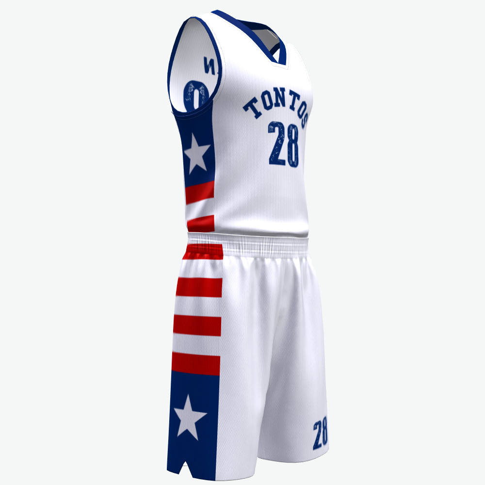 Custom full sublimation printed basketball jersey manufacturer in Shenzhen