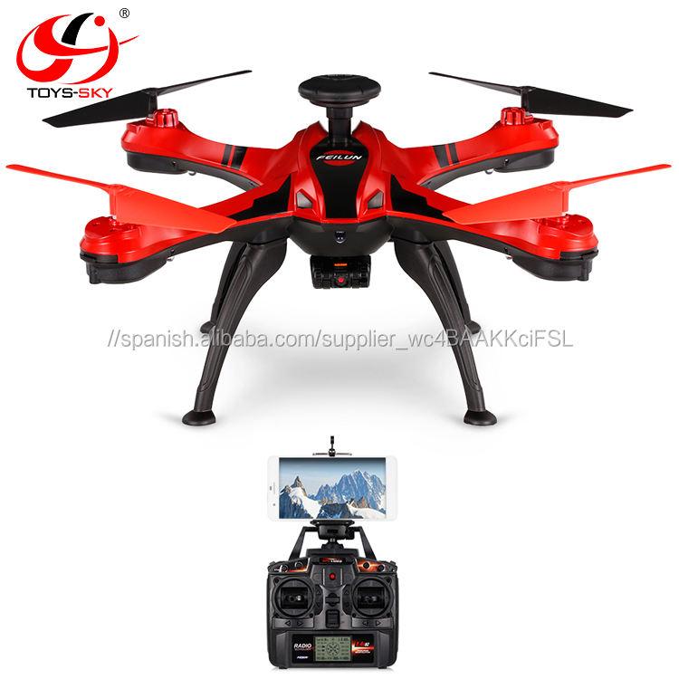 2.4g 4CH 2.0MP Cámara WiFi FPV drone siga me modo Orbit altura mantenga GPS RC xiaomi mi drone rtf al aire libre Quad drone