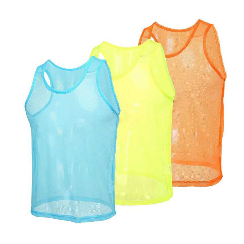 Custom Scrimmage Team Practice Soccer Training Vests Pinnies Jerseys for Children Youth Sports Basketball Football Volleyball