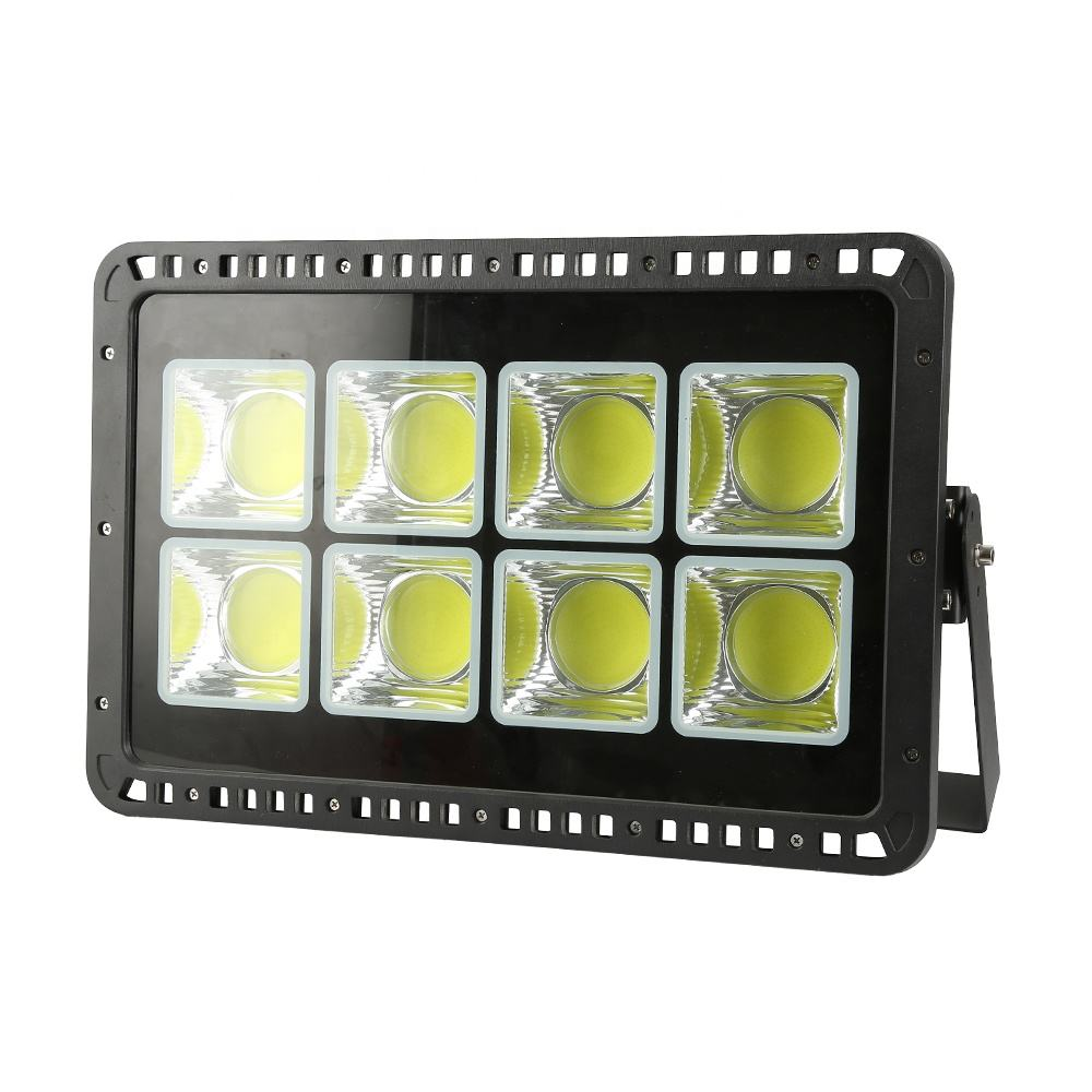 50w 100w 200w 300w 400w 500w 600w High Lumen 110lm/w Led Flood Light Replacement Tempered Glass Lamp Housing Aluminum Ip66