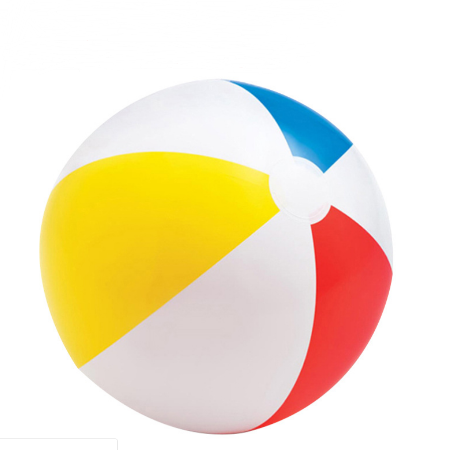 Wholesome Custom PVC Colorful Beach Ball Inflatable Pool Toys
