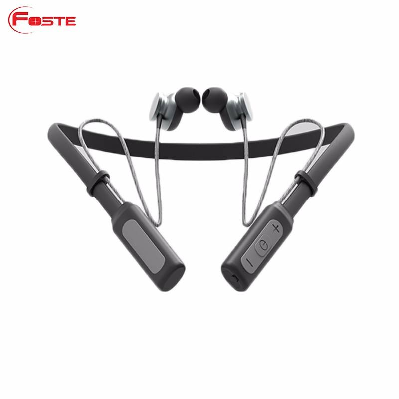 HK Adil Populer Model, FT-X12 Bluetooth Earphone, Mini Sport Bluetooth Headset/Headphone Dengan Neckband --- Bluetooth Rentang 50 m!!!