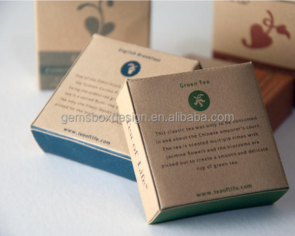 Tea of Life Structural packaging kraft box