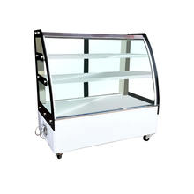 Deli showcase direct cooling display cake freezer