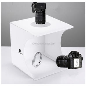 Photography Foldable Portable Photo Light Studio two Colors Background Shooting Tent Box for your jewelry