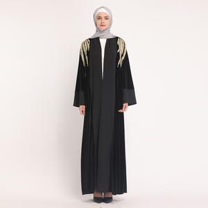 Abayas For Women Kaftan Velvet Abaya Turkey Muslim Hijab Dress Qatar Ramadan Caftan Marocain Robe Dubai Turkish Islamic Clothing
