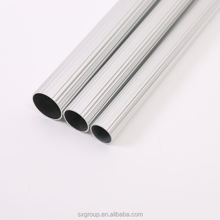 Wholesale Aluminium Industry Extrusion Profiles With Mill Finish Aluminium Tubes /Round Bar Aluminum Alloy Pipe