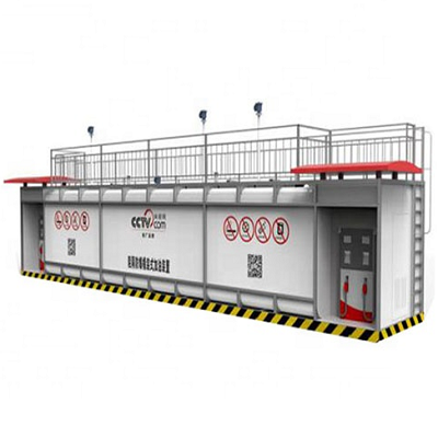 20FT 19200L container gas portable mobile fuel station