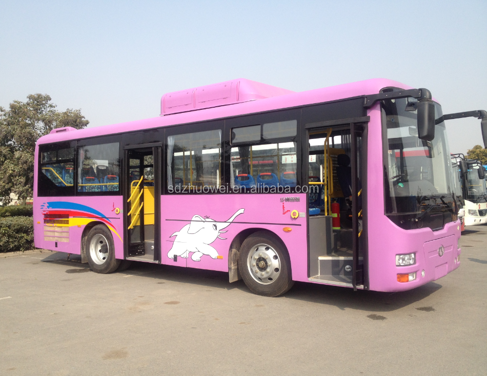 35-38seats 8.6m Rear engine Diesel and CNG city bus