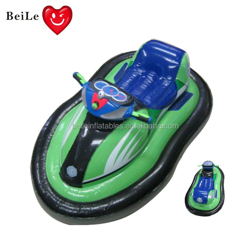 Hot sale children motorcycle float inflatable water rider float