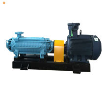 Single-suction large head horizontal multi-stage centrifugal water pump