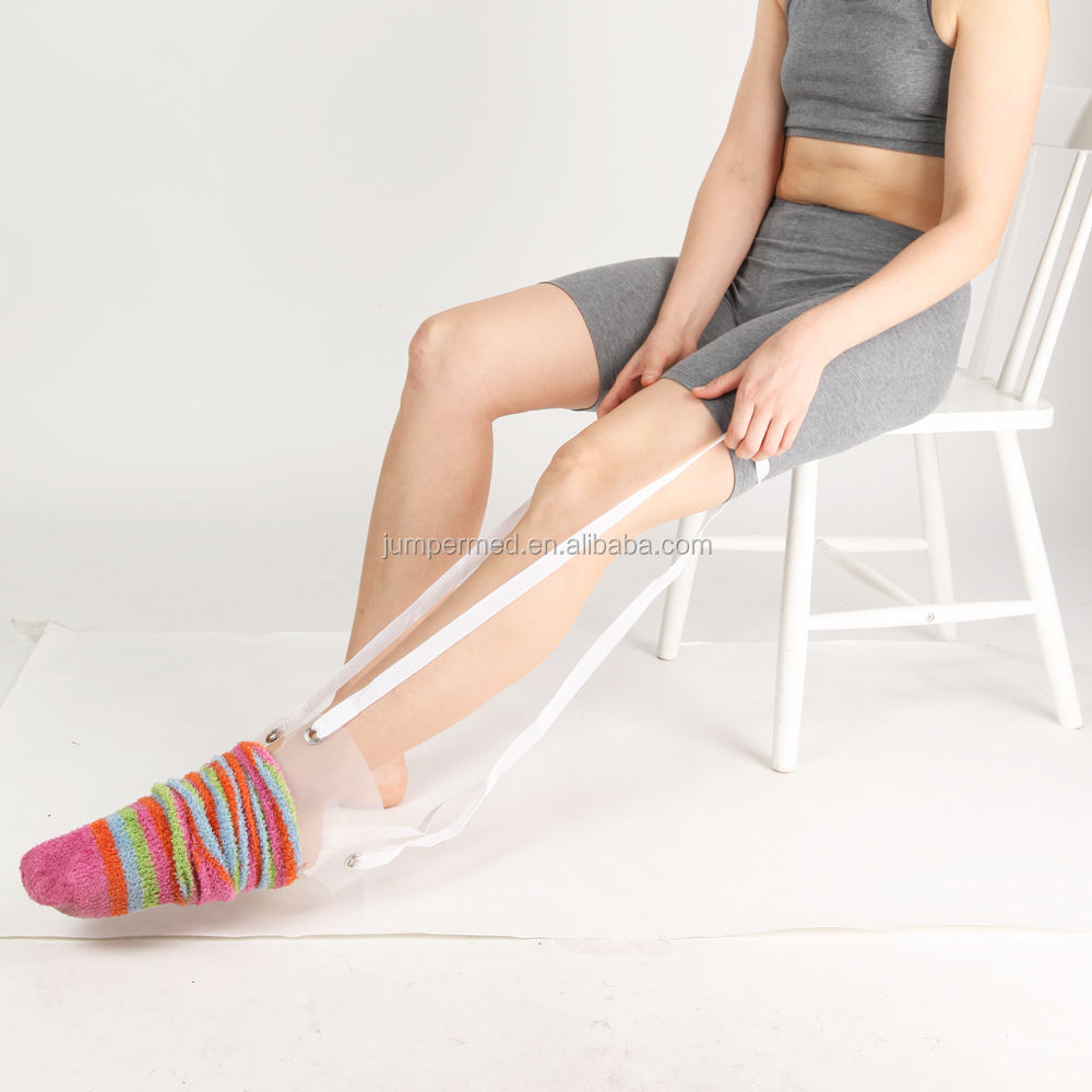 Plastic pad Sock Aid, Stocking aid, Disability aid
