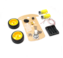 2WD Motor Smart Robot Car Chassis /Tracing car box Kit Speed Encoder Send the Battery Box