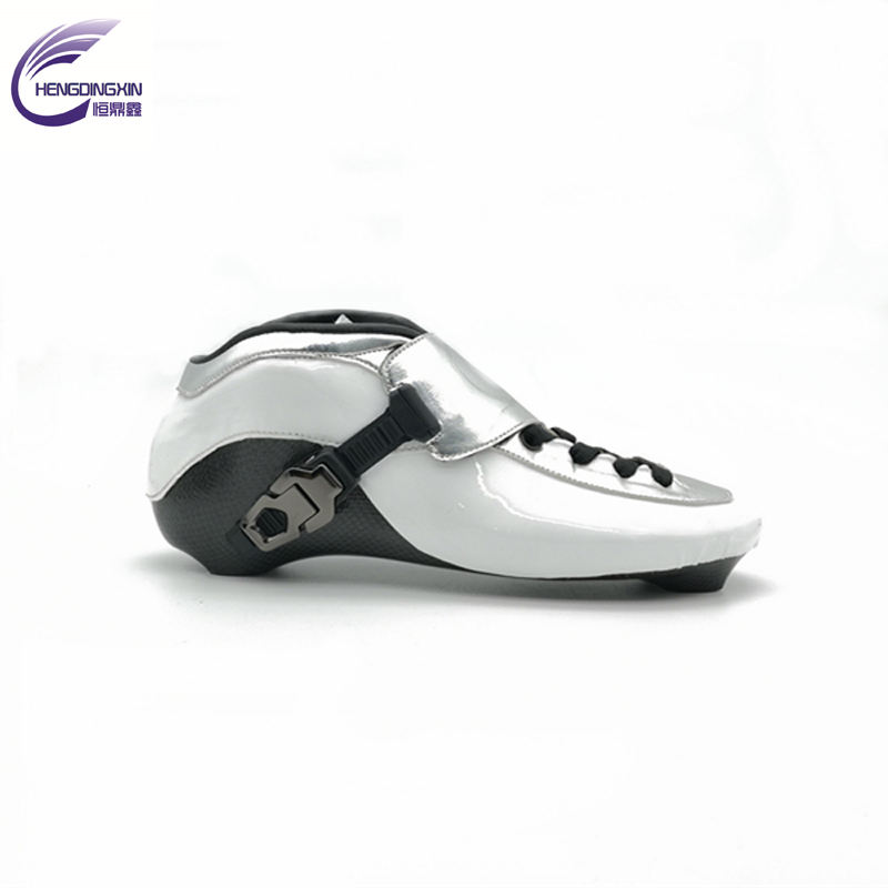 Inline skate speed boot 100% full Carbon professional speed skating boots OEM wholesale inline skates manufacturer