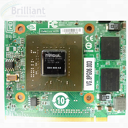 NVIDIA 9600M GT MXM replace 8600M 9500M for Acer 5920G 6920 7720 5930 8920G 8930