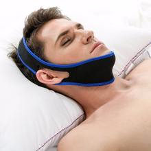 Sleep deep guard Snoring Chin Strap Neoprene Snore Stopper Solution for Mouth Breathing Jaw Anti Chin Strap Support
