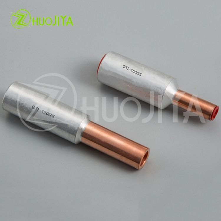 Zhuojiya Best Brand Manufacturer Sizes Cable Insulated Pin Terminal Lug Copper Aluminum Ferrule Connector