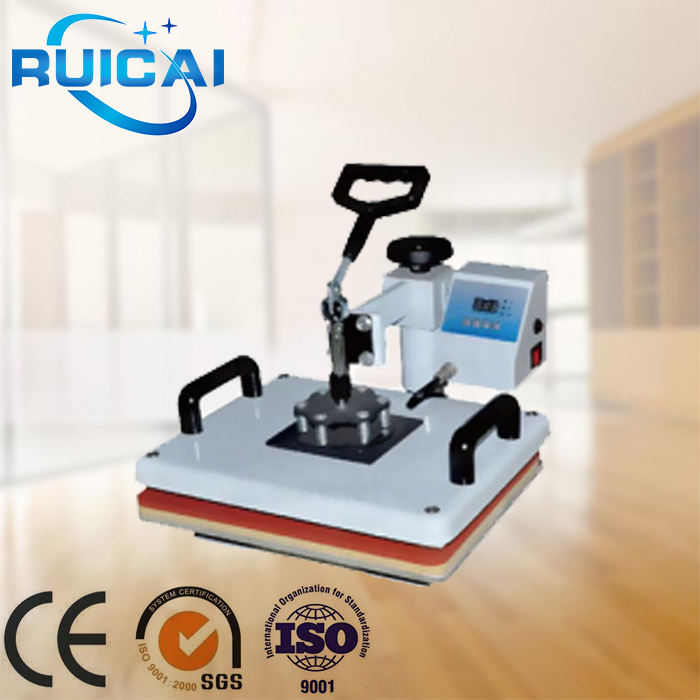 Top Quality t-shirt Mug Plate Cap Combo Heat Press Machine / Plastisol Heat Transfer Machine