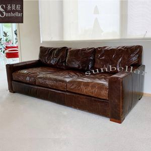 living room sofa antique living room sofa sets full leather luxury vintage cloud sofa rh style