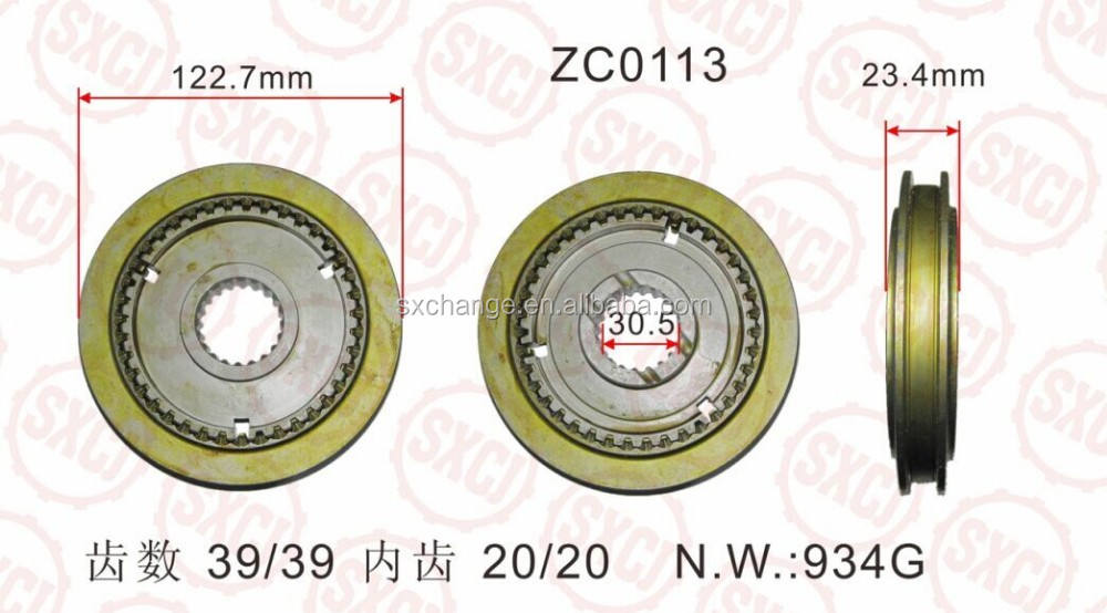 MITSUBISHI Transmission Gear ME-600772/ME-601090 FOR M025 M035 PS125 4D32 4D34 -- SYNCHRONIZER ASSEMBLY 39T/20T