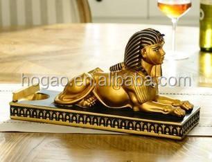 Egyptian Theme Great Sphinx Of Giza Monolith Wonder Replica Figurine Collectible