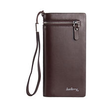 Wholesale high quality baellerry business men's long wallet