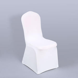 High quality hotel banquet supplies dining table chair cover for wedding decoration