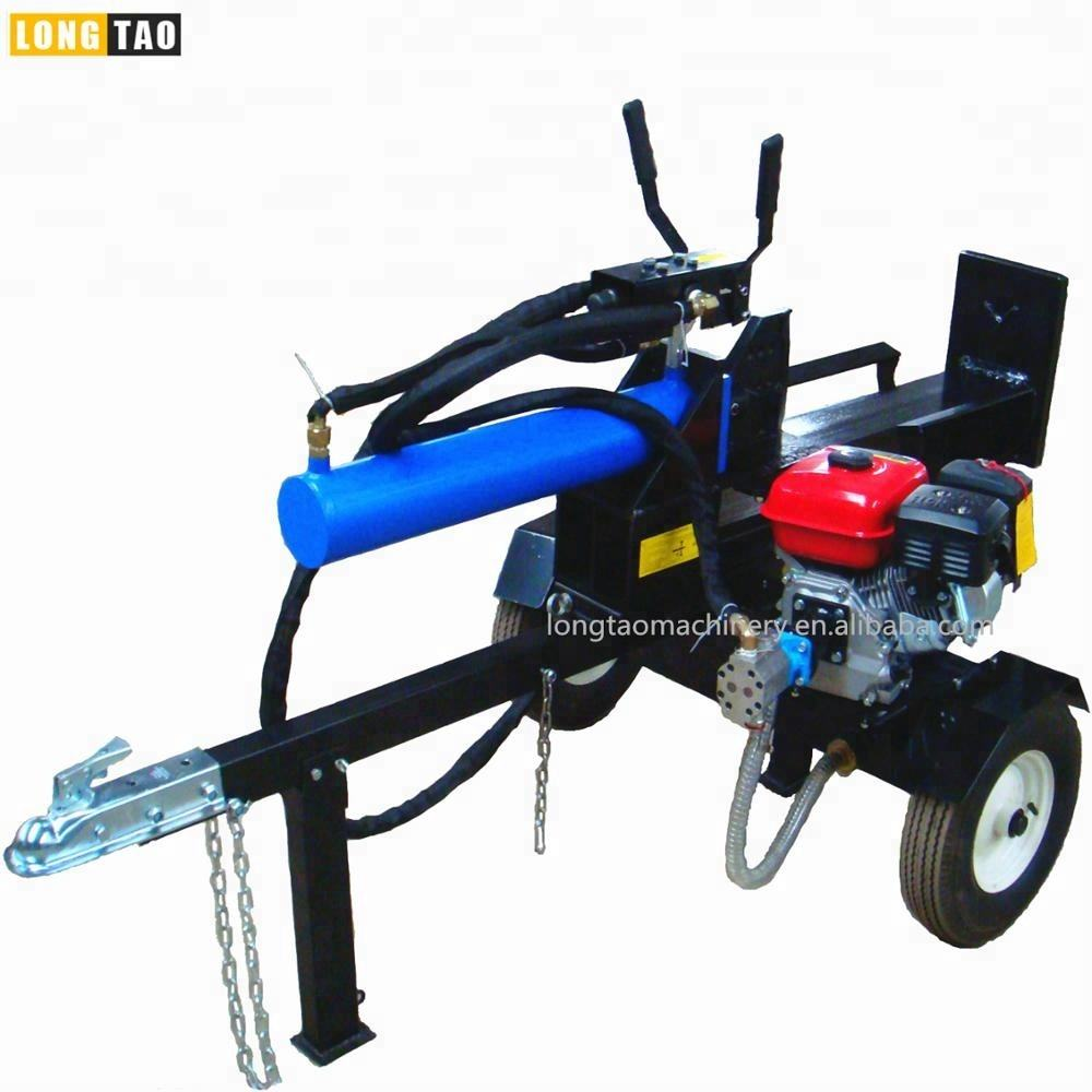 New CE Europe standard self powered 15hp gasoline engine log splitter machine for sale