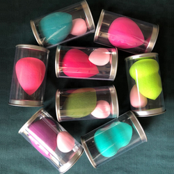Private label super soft teardrop makeup sponge