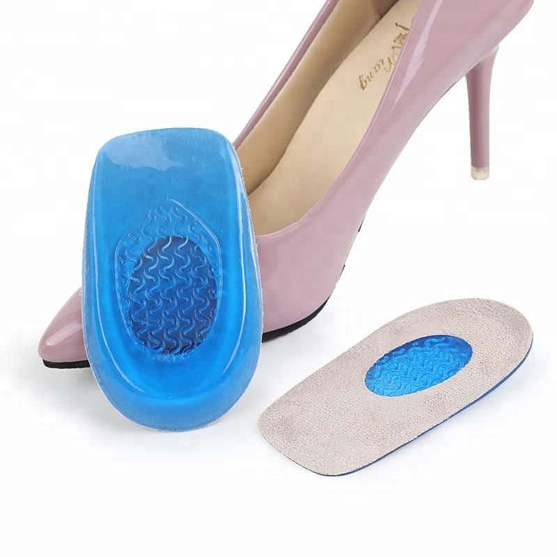 Gel Orthotic Protector Cushion Gel Relieve Shoe Inserts Foot Silicone Heel Pad