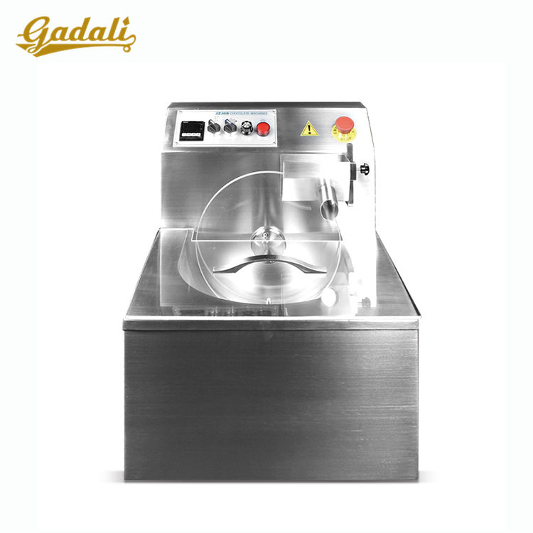 Commercial utilisé mini petite machine de trempe au chocolat fondant pour la vente + automatique machine de trempe au chocolat