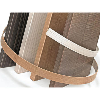 pvc wood grain and plain colored edge banding tape for kitchen furniture table decoration