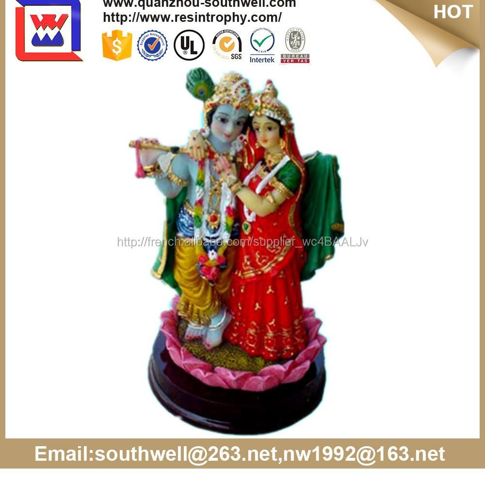 Meilleures ventes produit customed haute <span class=keywords><strong>qualité</strong></span> résine hindoue <span class=keywords><strong>déesse</strong></span> statue