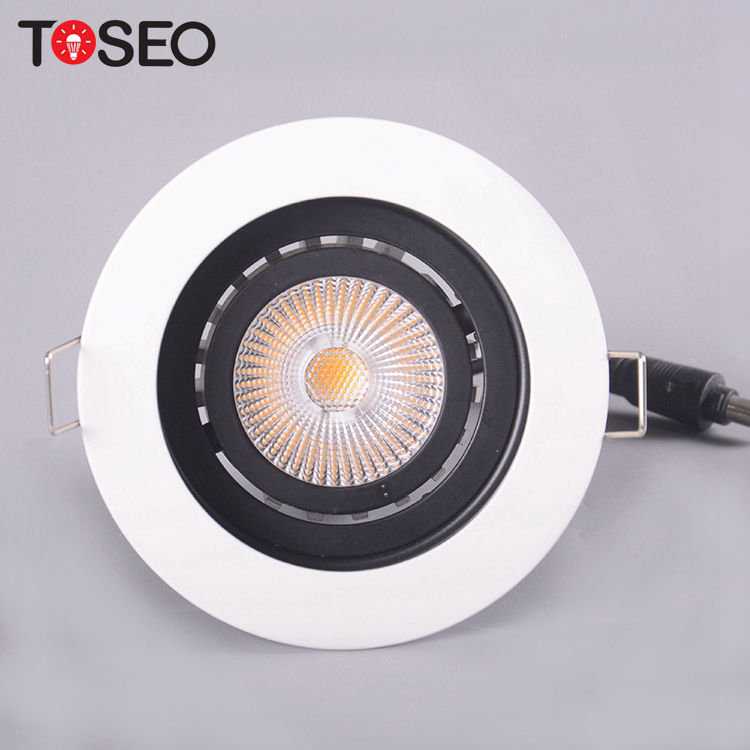 12 V 230 V Tahan Api Firerated Tersembunyi LED Down Light Dimmable Lampu Tersembunyi LED Lampu Downlight