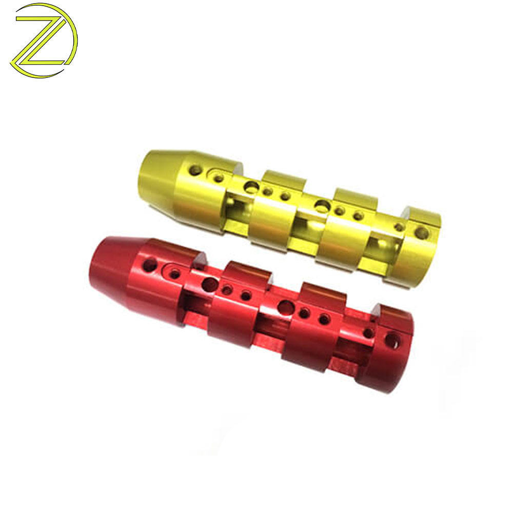 China Manufacturer Anodized Aluminum Anodising Process CNC Turning Auto Parts Motorcycle Parts
