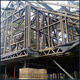 house prefab steel frame in golden Aluminum Zinc coating at Standard AS/NZS 4600, AISI S100, EN1993, BS5950-5, GB50009, SASFA