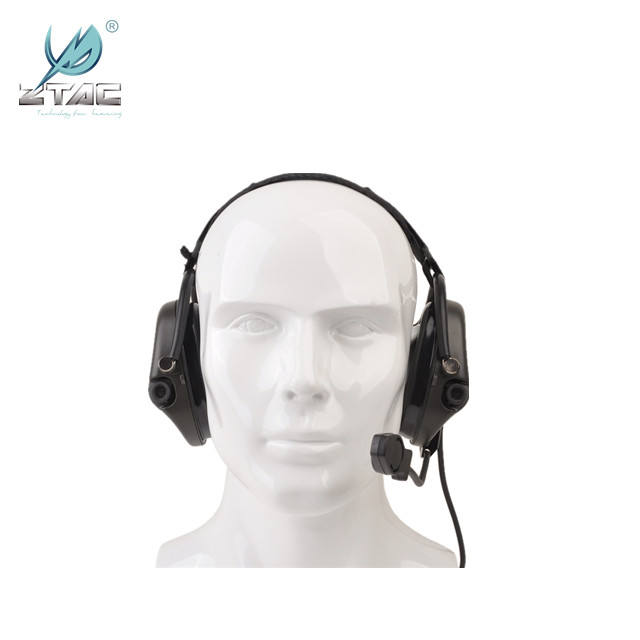 Z-TAC softair Zsordin Headset Airsoft element Comtac ZComtac II Active Noise Canceling Headphone Z039 FOR WARGAME