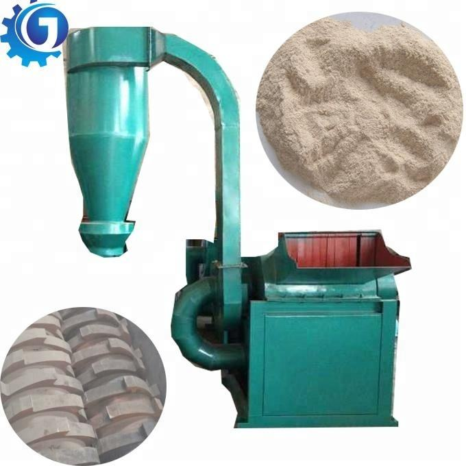 Good quality wood sawdust chips tree branch crusher machine wood powder grinding machine