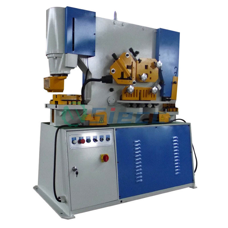 Taiwan sunrise punch and shear machine CE approved piranha ironworker