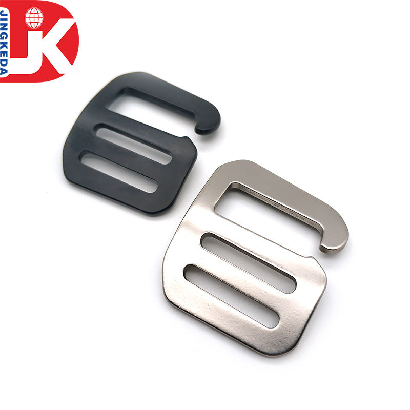 China supply custom aluminium G hook ajustable buckle for backpack