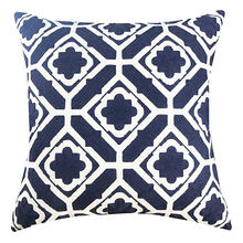 Decorative Square Throw Pillow Covers 100% Cotton Cushion Cases